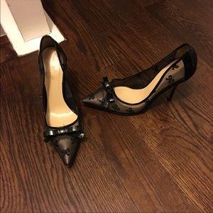 Kate Spade black pointed toe shoe🌸